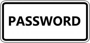 password, keyword, codeword