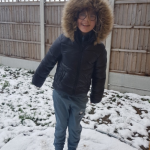 year 3- holly in the snow